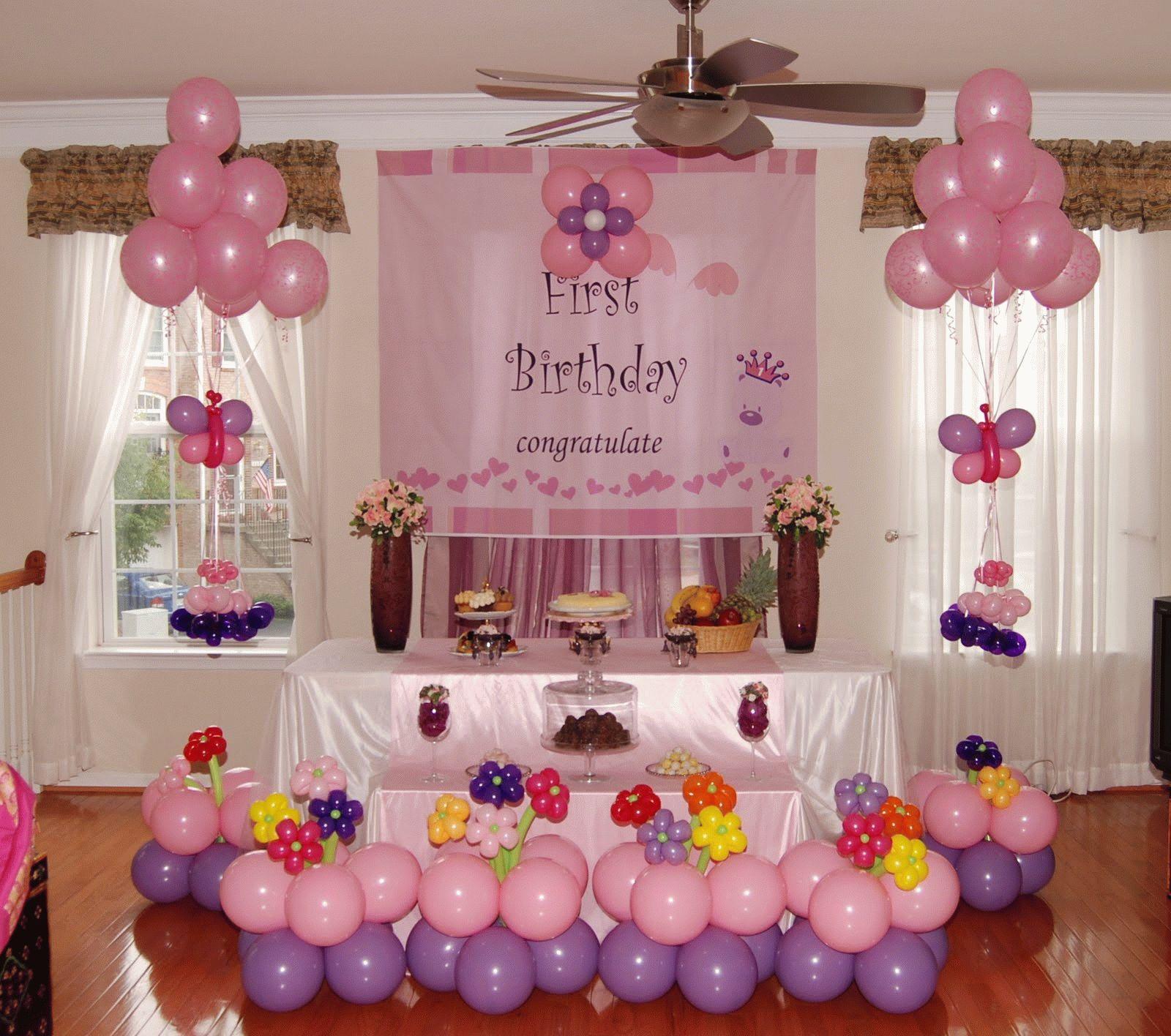 Украшение на день рождения ребенка фото
